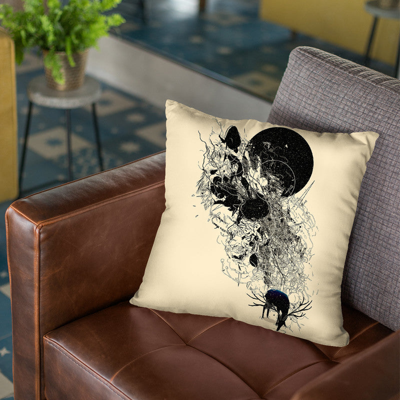 Saferwaters Throw Pillow By Nicebleed