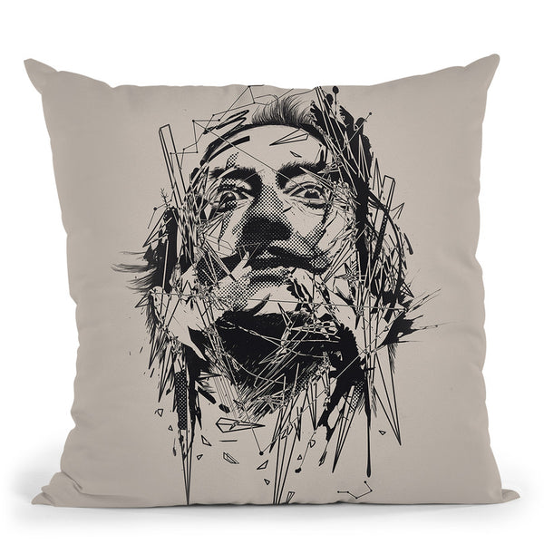 Dali Throw Pillow By Nicebleed
