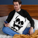 Skull Throw Pillow By Nicebleed