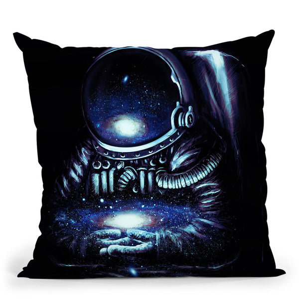 The Keeper Throw Pillow By Nicebleed
