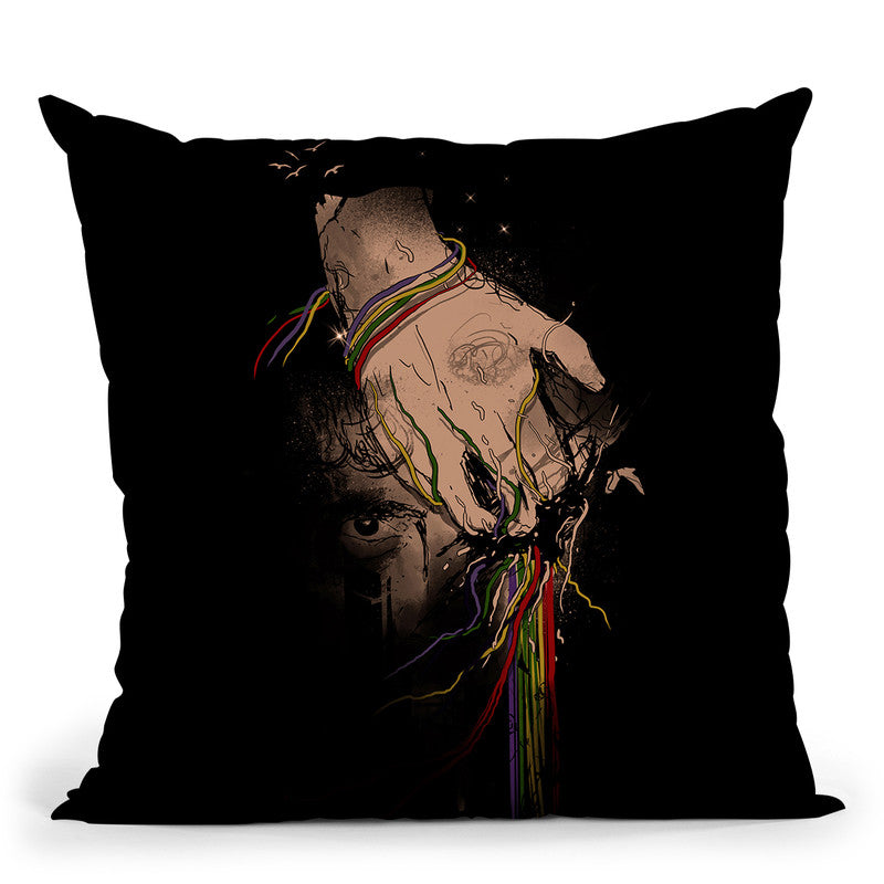 The Terror Throw Pillow By Nicebleed