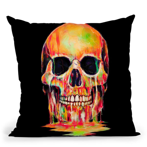 Dye Out Throw Pillow By Nicebleed