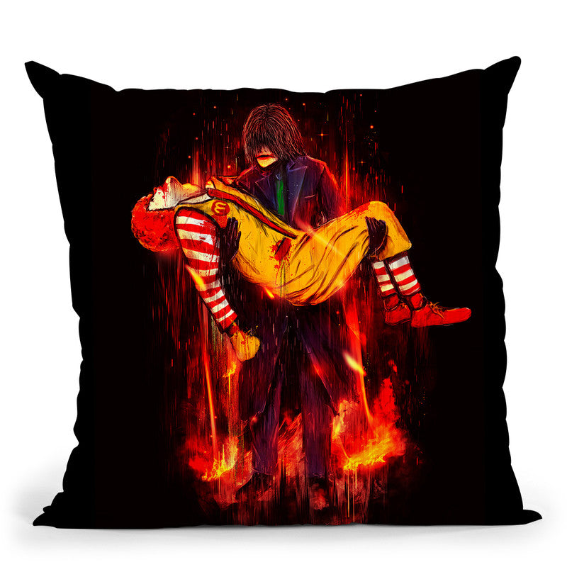 This Is Not A Joke! Throw Pillow By Nicebleed