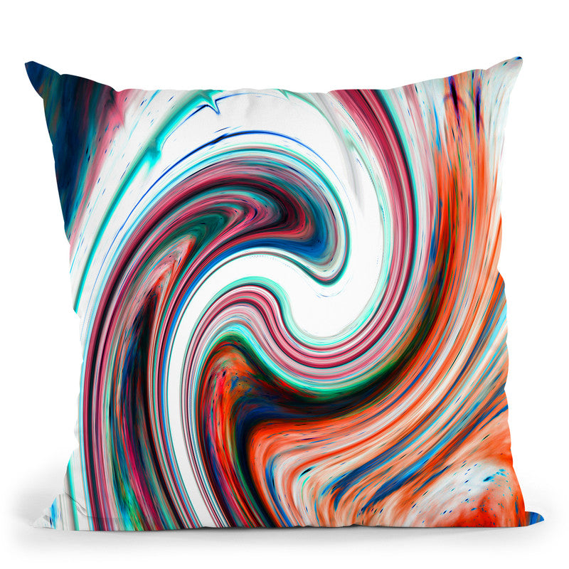 Twisted Soul Throw Pillow By Nicebleed