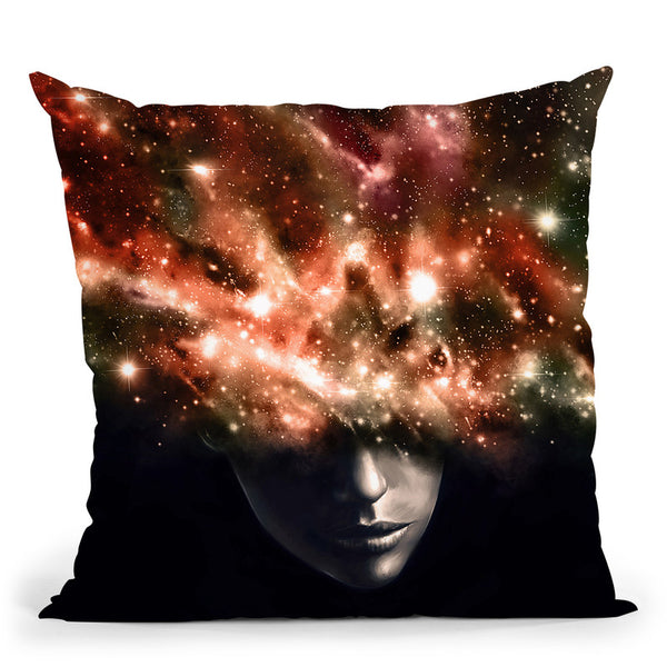 Everything I See Throw Pillow By Nicebleed