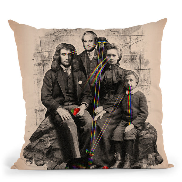 Family Portrait Throw Pillow By Nicebleed