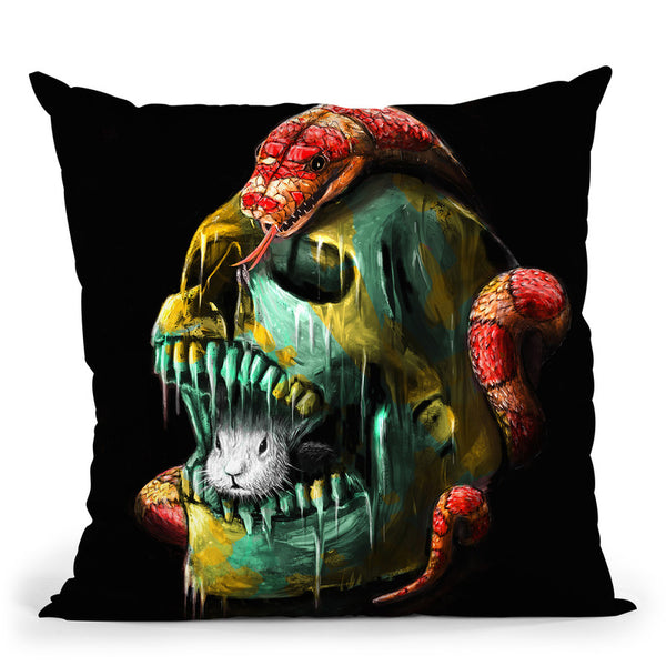 Fear And Desire Throw Pillow By Nicebleed