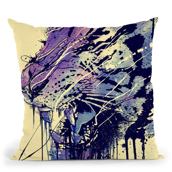 Fearless Throw Pillow By Nicebleed