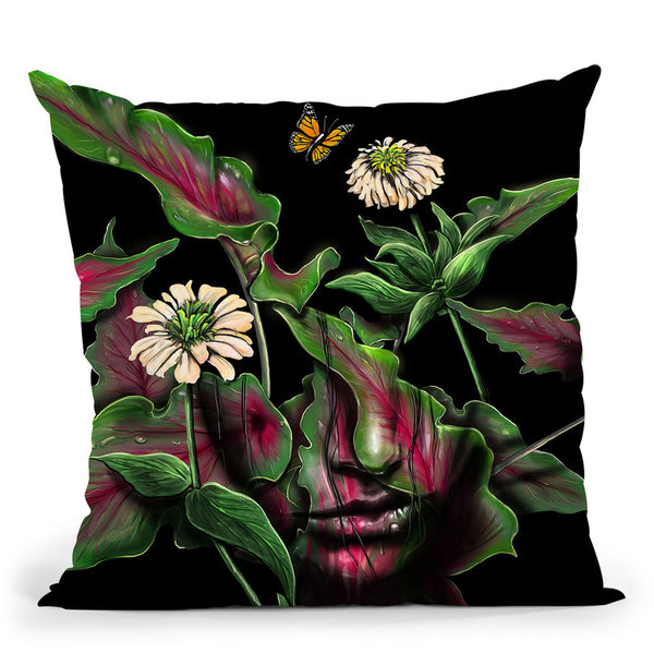 Felicity Throw Pillow By Nicebleed
