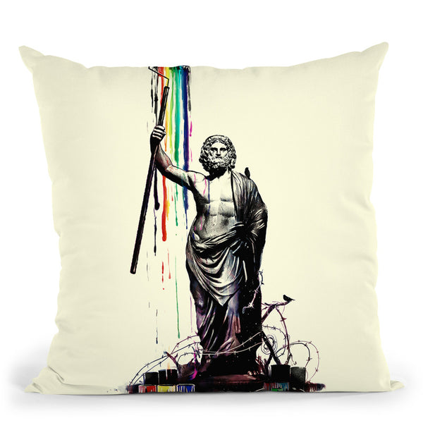 God Of Graffiti Throw Pillow By Nicebleed