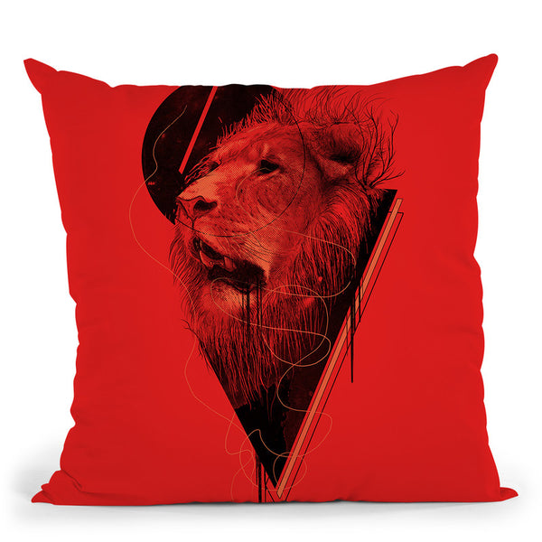 Hunger Strike Throw Pillow By Nicebleed