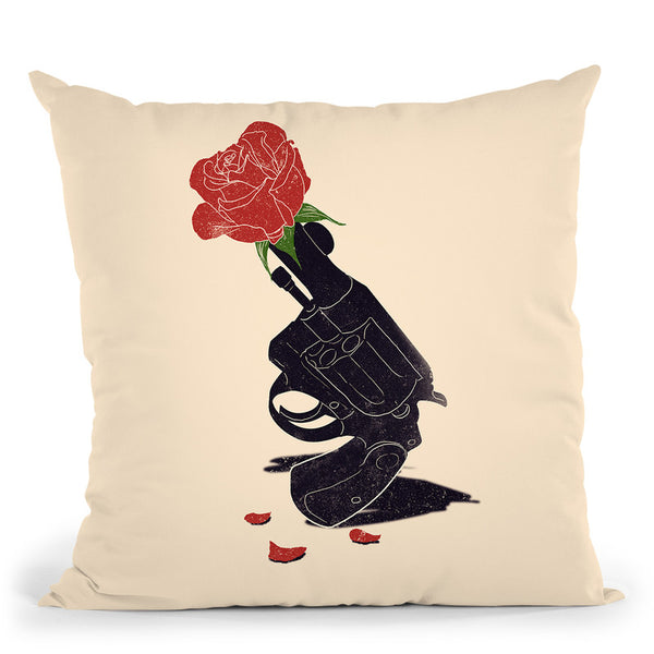 Cease Fire Throw Pillow By Nicebleed