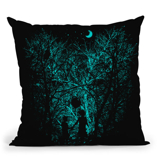 Into The Woods Throw Pillow By Nicebleed