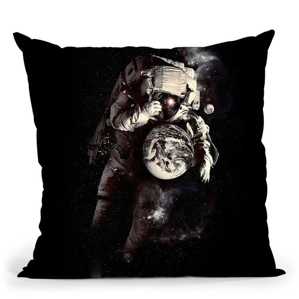 It'S A Small World After All Throw Pillow By Nicebleed