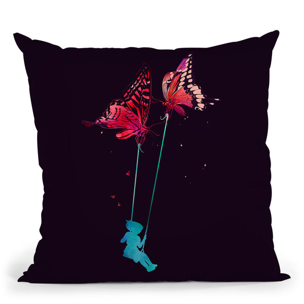 Joy Ride Throw Pillow By Nicebleed