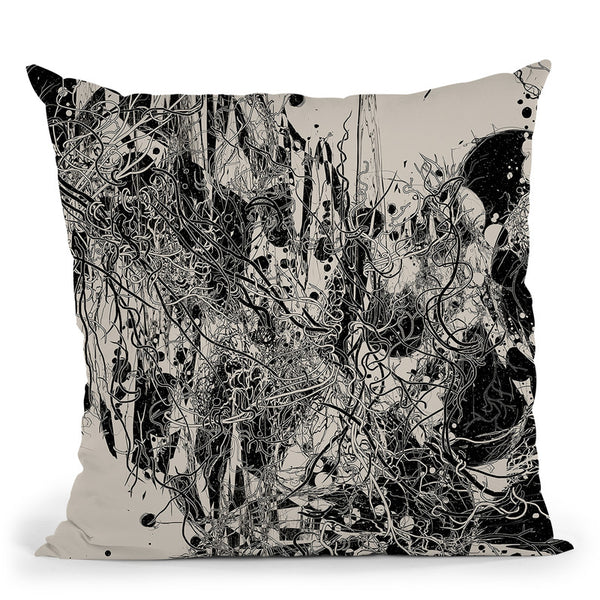 Coexistence Throw Pillow By Nicebleed