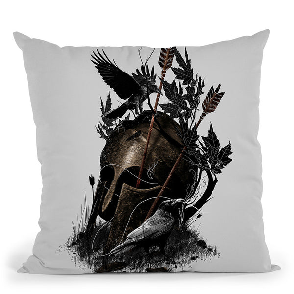 Legends Fall Throw Pillow By Nicebleed