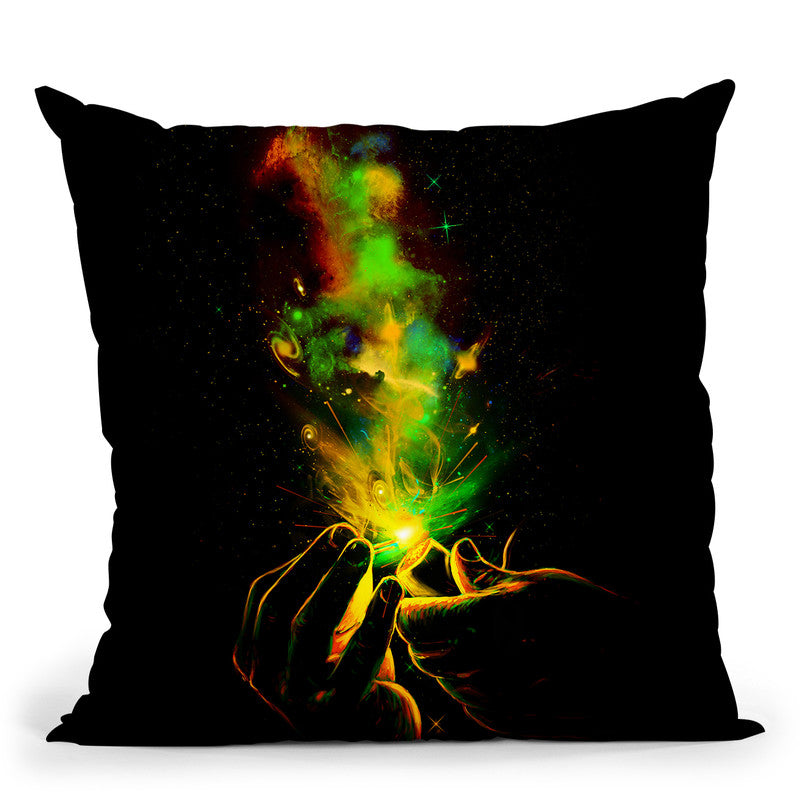 Light It Up! Throw Pillow By Nicebleed
