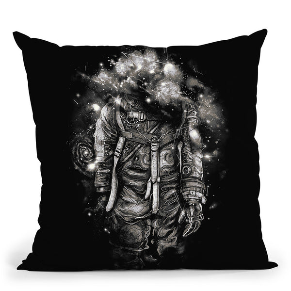Lost In Cosmicades Throw Pillow By Nicebleed