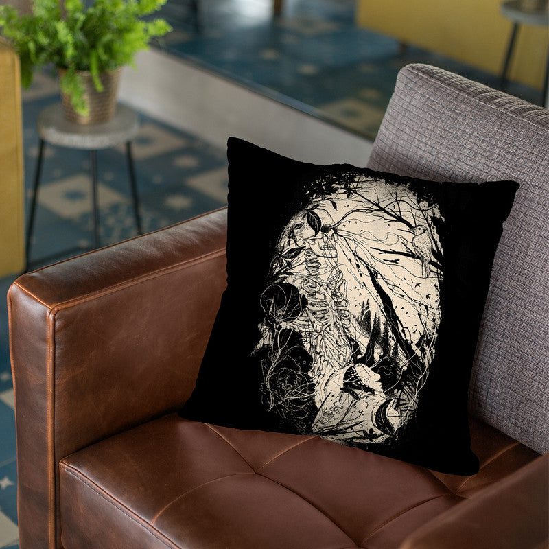 Comfortably Numb Throw Pillow By Nicebleed