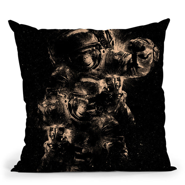 Lost In Space Throw Pillow By Nicebleed