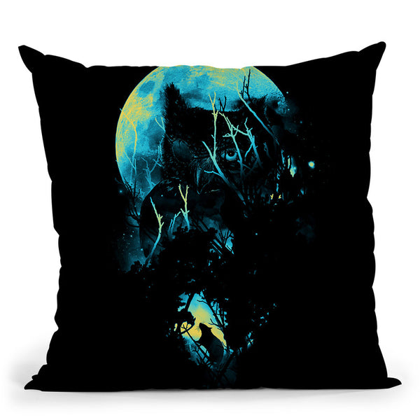 Lurking Throw Pillow By Nicebleed