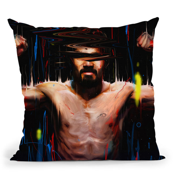 Manny Pacquiao Throw Pillow By Nicebleed