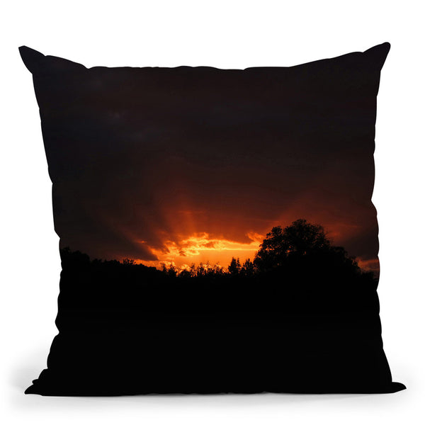 Sunset Throw Pillow By Niklas Gustafson