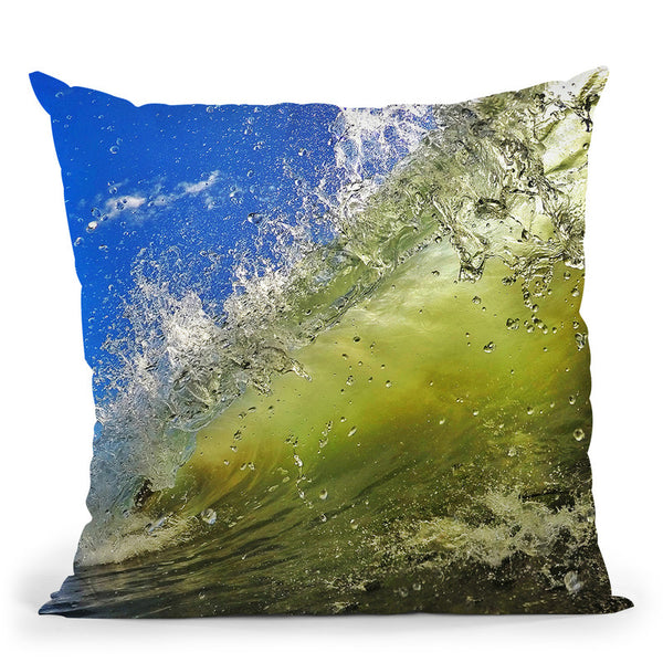 Surf Throw Pillow By Niklas Gustafson