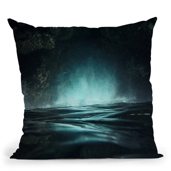 Surreal Sea Throw Pillow By Niklas Gustafson