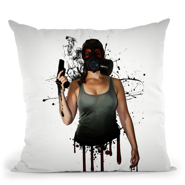Bellatrix Throw Pillow By Niklas Gustafson