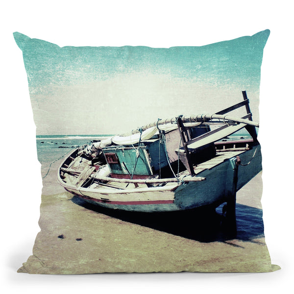 Waiting For The Tide To Change Throw Pillow By Nicklas Gustafsson