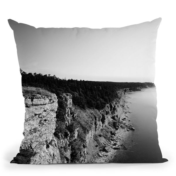 Where Sea Meets Land Throw Pillow By Niklas Gustafson