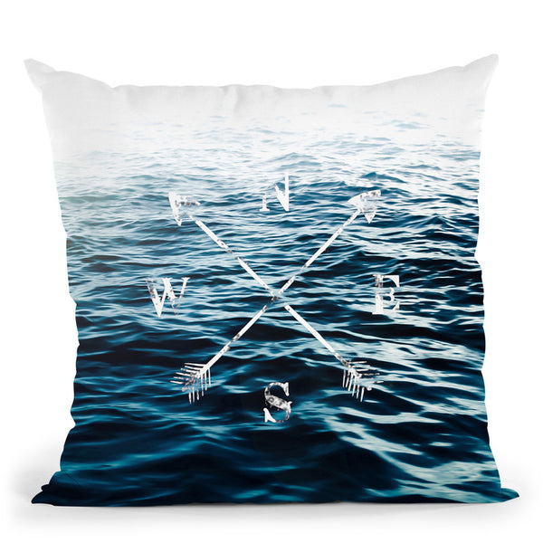Winds Of The Sea Throw Pillow By Niklas Gustafson