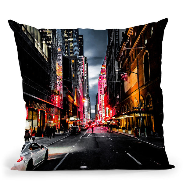 Gotham Throw Pillow By Niklas Gustafson