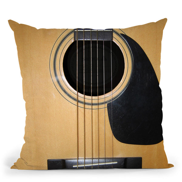 Guitar Throw Pillow By Niklas Gustafson
