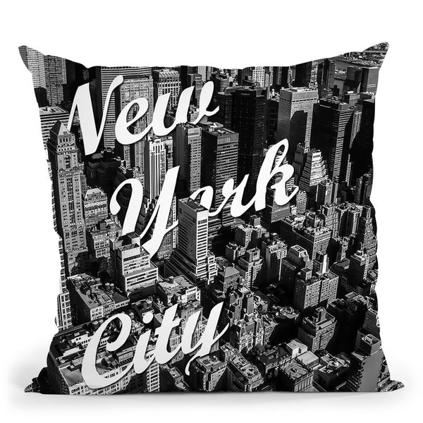 New York City Throw Pillow By Niklas Gustafson