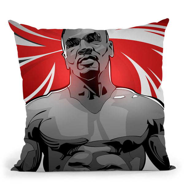 Tyson Throw Pillow By Nikita Abakumov