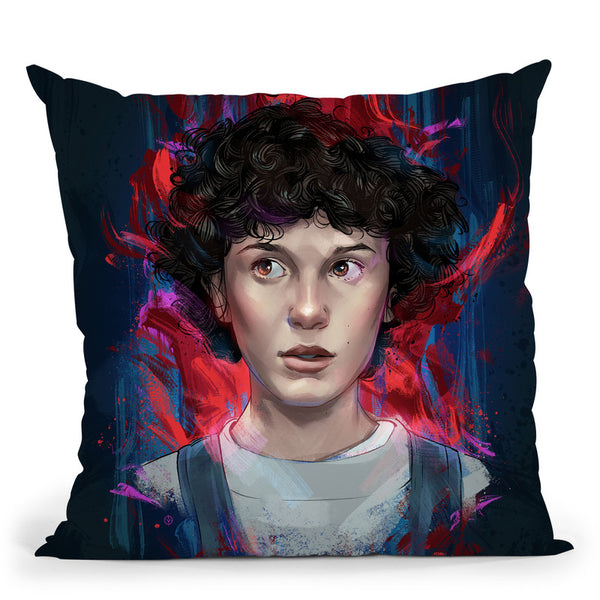 Eleven Throw Pillow By Nikita Abakumov
