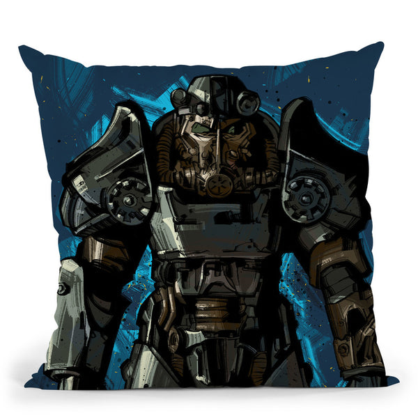 Fallout I Throw Pillow By Nikita Abakumov