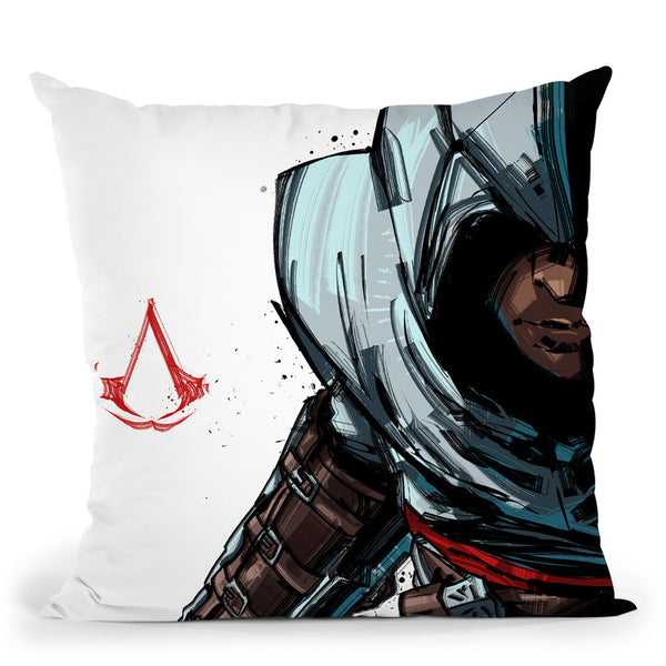Assasins Throw Pillow By Nikita Abakumov