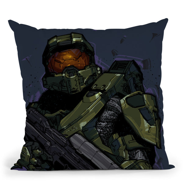 Halo Throw Pillow By Nikita Abakumov