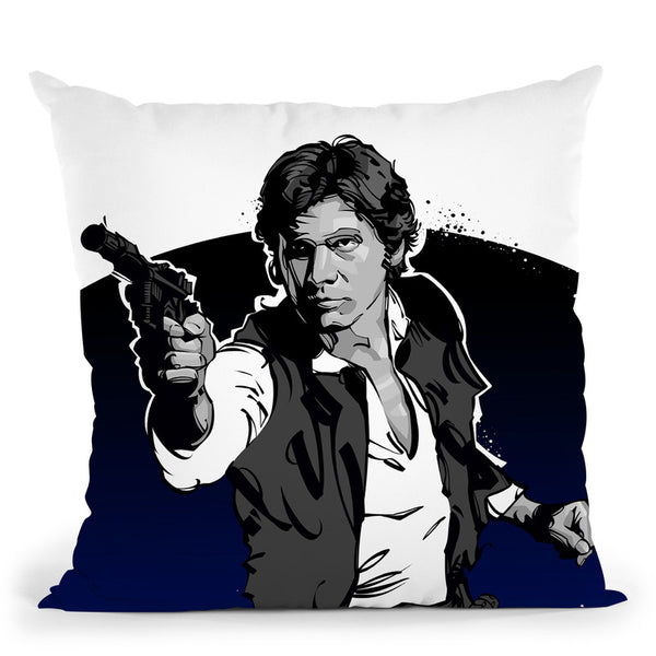 Han Solo Throw Pillow By Nikita Abakumov