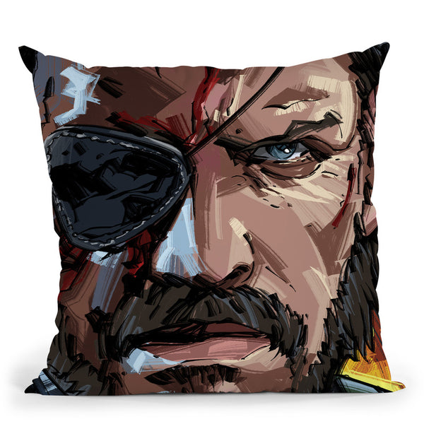 Metal Gear Throw Pillow By Nikita Abakumov