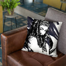 Michonne Throw Pillow By Nikita Abakumov