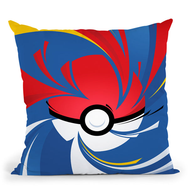 Pokemon Throw Pillow By Nikita Abakumov