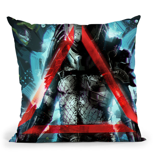Predator Throw Pillow By Nikita Abakumov