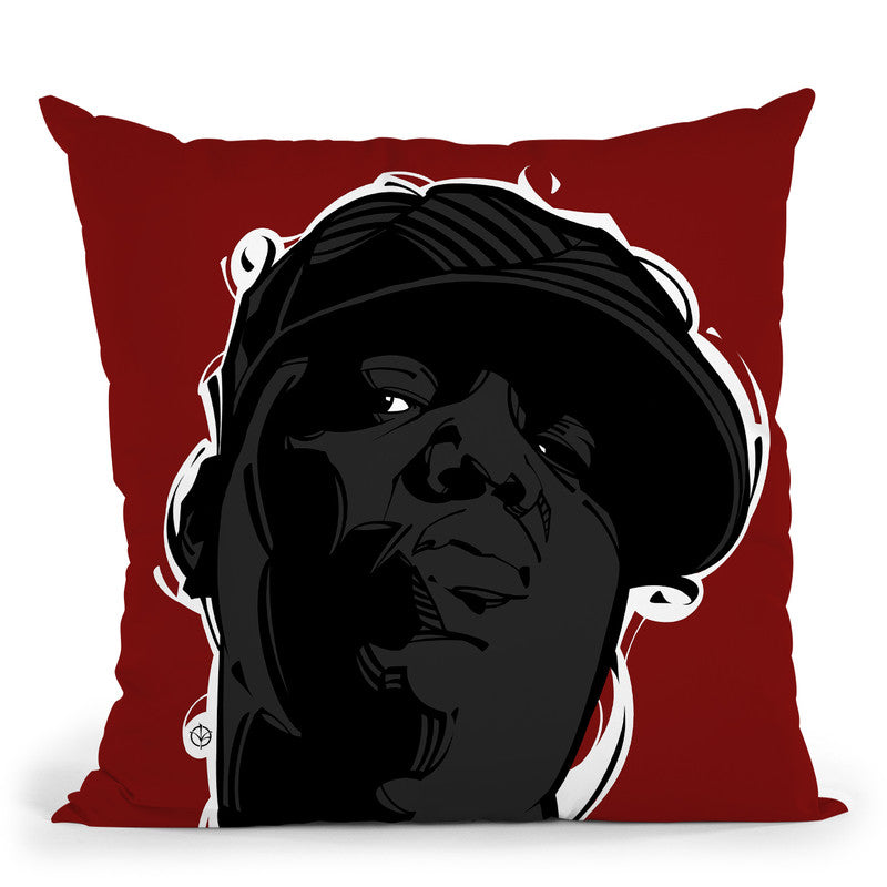 Big Ii Throw Pillow By Nikita Abakumov