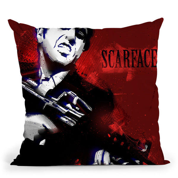 Scarface Throw Pillow By Nikita Abakumov