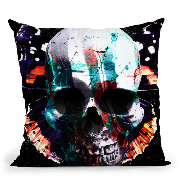 Skull Ii Throw Pillow By Nikita Abakumov